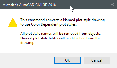 Civil 3D project version migration to Civil 3D 2018